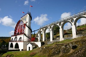 The Laxey Wheel in Mann