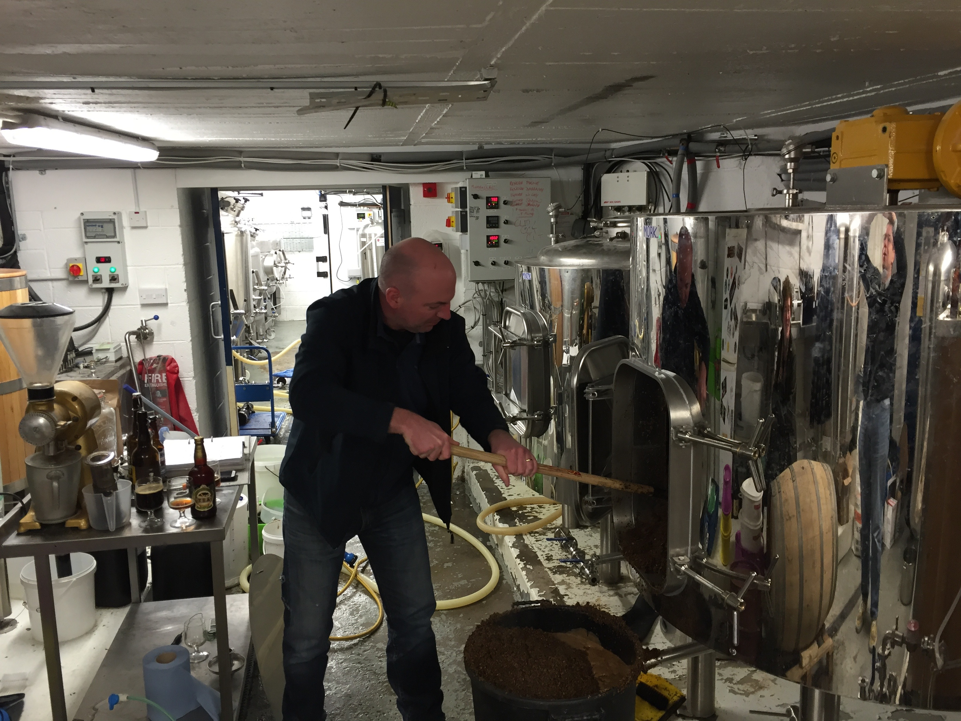 the underground brewery stories about brewing beer and train