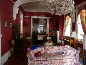 The Haunted Livingroom, where the curtains kept moving.